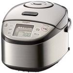 MITSUBISHI(三菱) 炊飯器 NJ-TE18 「超音波吸水」、1.2気圧105℃「大沸騰圧力」 超音波圧力IHジャーの詳細ページへ
