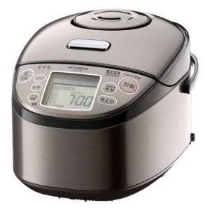 MITSUBISHI(三菱) 炊飯器 NJ-TV10-T (スモークブラウン) 5.5合炊き 炭炊き圧力IHジャー三菱電機