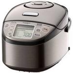 MITSUBISHI(三菱) 炊飯器 NJ-TV10-T (スモークブラウン) 5.5合炊き 炭炊き圧力IHジャー三菱電機の詳細ページへ
