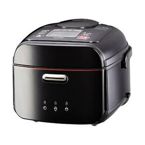 MITSUBISHI(三菱) 炊飯器 NJ-WS10A(K)漆黒本炭釜 5.5合炭炊きIHジャー 召しませ、炭炊きごはん