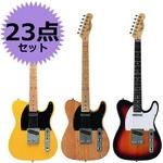 Photo Genic(フォトジェニック) エレキギター初心者23点セット アンプ付き入門に最適! 【テレキャスタータイプ】 TCL220 SB (DVD)