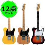 Photo Genic(フォトジェニック) エレキギター初心者12点セット 入門に最適! 【テレキャスタータイプ】 TCL220 SB (本)