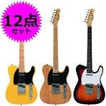 Photo Genic(フォトジェニック) エレキギター初心者12点セット アンプ付き入門に最適! 【テレキャスタータイプ】 TCL220 SB (本)