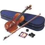 Hallstatt(ハルシュタット) 初心者でも安心なバイオリンセット ヴァイオリン初心者入門6点セット V28STEADY(ステディ) 39817