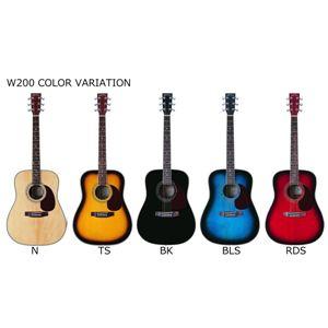 アコースティックギター初心者入門10点セットSepia Crue届いてすぐに始めるアコースティックギターW200入門10点セット! ブルーSB