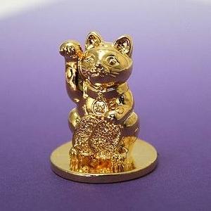 FANTASISTA(ファンタジスタ) 幸運シリーズ!!神が宿る黄金の招き猫マーカー!!
