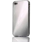 Ai-Style Series iPhone4 ハードケース 【Ai4-Wood-SB】 Type Wood SB(シルバー)
