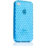 Ai-Style Series iPhone4 TPUケース 【Ai4-S-Dia-Blue】 Type S-Dia Blue(ブルー)