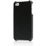 Ai-Style iPhone4 Carbon Look(ハードケース カーボンルック) 【Ai4-Carbon-Black】(ブラック)