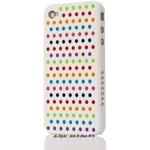 Ai-Style Series iPhone4 ケース 【Ai4-S-Dot-WY】(ホワイト)替玉7色各16個付