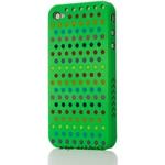 Ai-Style Series iPhone4 ケース 【Ai4-S-Dot-GN】(グリーン)替玉7色各16個付