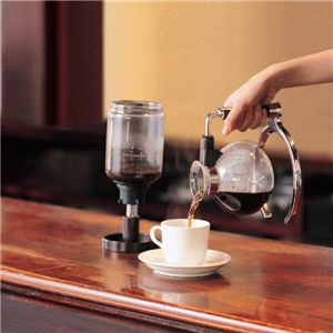 TWINBIRD(ツインバード) サイフォン式コーヒーメーカー CM-D853BR ダークブラウン