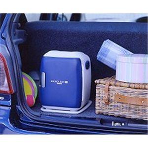 TWINBIRD(ツインバード) 2電源式コンパクト電子保冷保温ボックスデュオカーゴSi OR-C638BL ブルー