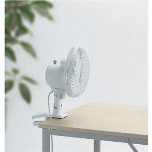 TWINBIRD(ツインバード) クリップ扇風機 EF-4983W ホワイト