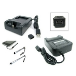 HTC Desire HD Softbank 001HT 充電クレードル・予備バッテリー・保護シート