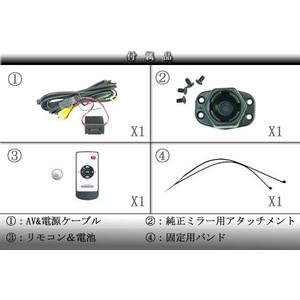 トリビュート 3.8インチルームミラーモニター 右画面 イルミネーションタッチボタン搭載タイプ BM-E3801R
