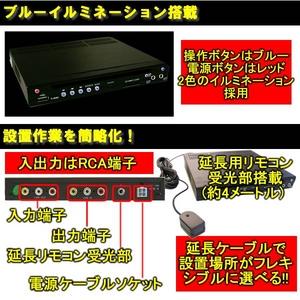 トリビュート ハーフDIN DVDプレーヤー SD・USBスロット搭載タイプ DP-A3001