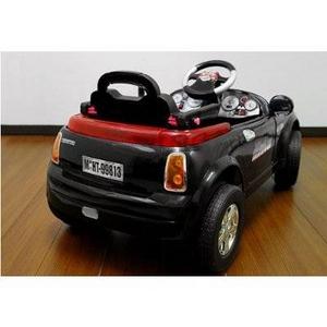 電動乗用ラジコン MINI CAR ミニクーパータイプ ブラック