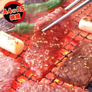 【父の日用】某高級焼肉店に卸しているA4・A5等級のみ黒毛和牛 焼肉3点セット600g