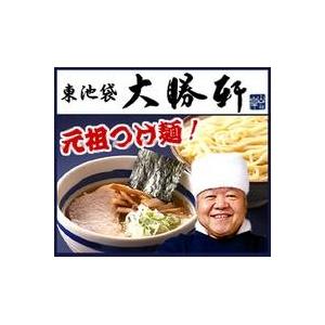 これぞ元祖つけ麺 東池袋大勝軒の「特製もりそば」「中華そば」 (6食×2 計12食セット)