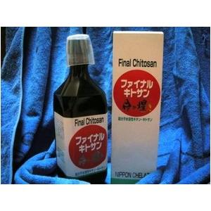 高分子水溶性 キチン・キトサン 【ファイナルキトサン 命の煌き】 500ml