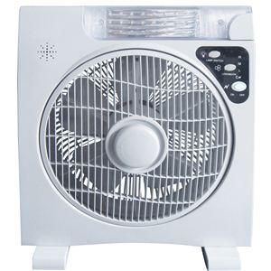 ソーラー発電 扇風機(LEDライト付き)AL COLLE(アルコレ)ALF300W