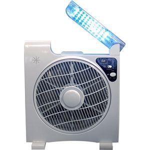 AL COLLE(アルコレ) ソーラー扇風機(LEDライト付き) ALF300W