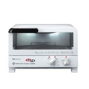KOIZUMI(コイズミ) オーブントースター ワイドタイプ KOS1201W