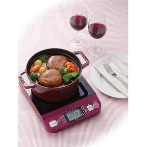 KOIZUMI(コイズミ) 卓上IH調理器 KIH1201R レッド