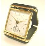 これぞ日本の職人芸!トカゲ皮張り機械式ぜんまい時計「時職人」(角型)