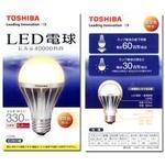 TOSHIBA(東芝) LED電球(60W相当) E-CORE(イー・コア)【電球色相当】の詳細ページへ