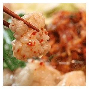 キムチもつ鍋セット 肉の匠が作る最高のもつ鍋