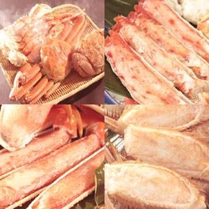 かに三昧満腹福袋Aセット(ボイル)/3種・合計1.5kg(姿ずわいがに・毛がに・たらばがに脚)03