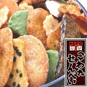 【訳あり】草加・おまかせ割れせんべい 1,000g缶