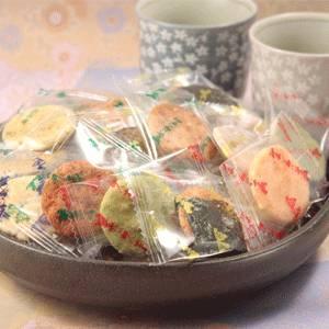 【お歳暮用 のし付き(名入れ不可)】草加煎餅「小丸ミックス」500g入
