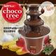 流れるチョコレートに夢中 PARTYedel チョコツリー