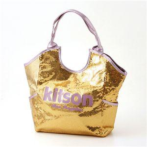 kitson スパンコール トートバッグ Sequin Tote Bag ゴールド