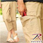 ROTHCO(ロスコ) 6ポケットカプリパンツ 8365/カーキ(ベージュ) Lサイズ