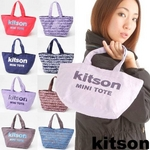 kitson(キットソン) ミニトートバッグ GRAFFITI Brown