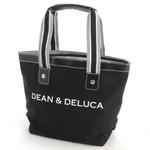 DEAN&DELUCA(ディーン&デルーカ) コットンキャンバス SMALL 171508・ブラック