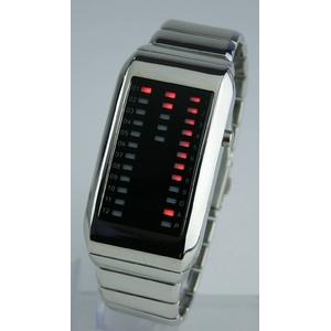 Godier LEDグラフウォッチ Aタイプ レッド