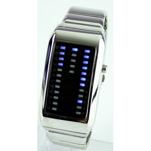 Godier LEDグラフウォッチ Aタイプ ブルー
