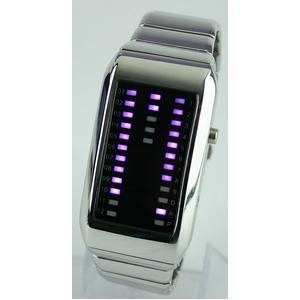 Godier LEDグラフウォッチ Aタイプ パープル