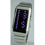 Godier LEDグラフウォッチ Bタイプ パープル 画像1