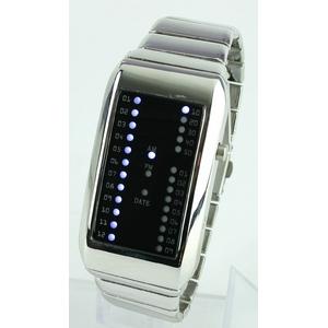 Godier LEDグラフウォッチ Cタイプ ホワイト