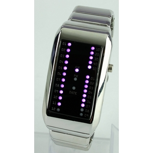 Godier LEDグラフウォッチ Cタイプ パープル