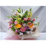 【母の日限定ギフト】アレンジ花束「四季の彩り」 5月旬のお花がいっぱいの詳細ページへ