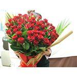 【母の日限定ギフト】赤バラ花束60本 迫力の大きさとボリュームの詳細ページへ