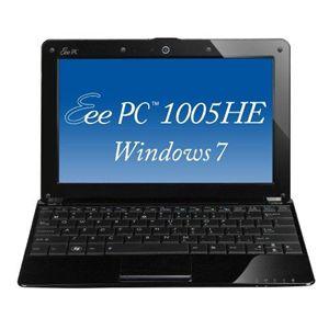 ASUS ノートパソコン Eee PC Seashell 1005HE-WS160 クリスタルブラック