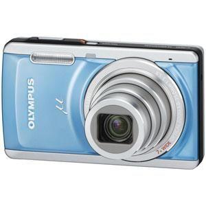 OLYMPUS(オリンパス) デジタルカメラ μ-7040LBL ブルー